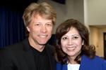 Bon Jovi and Hilda Solis