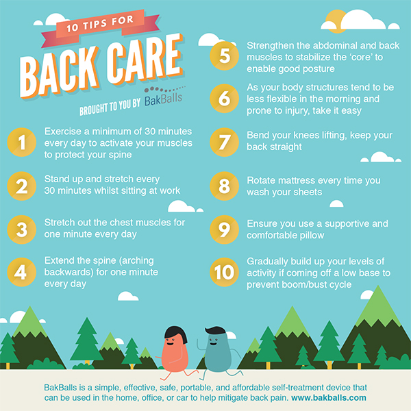 Back care tips