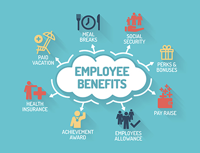 Employees want better benefits and compensation over perks