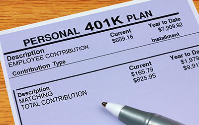 401k pay stub