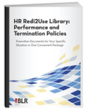 HR Redi2Use Library: Performance and Termination Policies