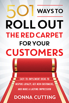 Roll out the red carept book cover