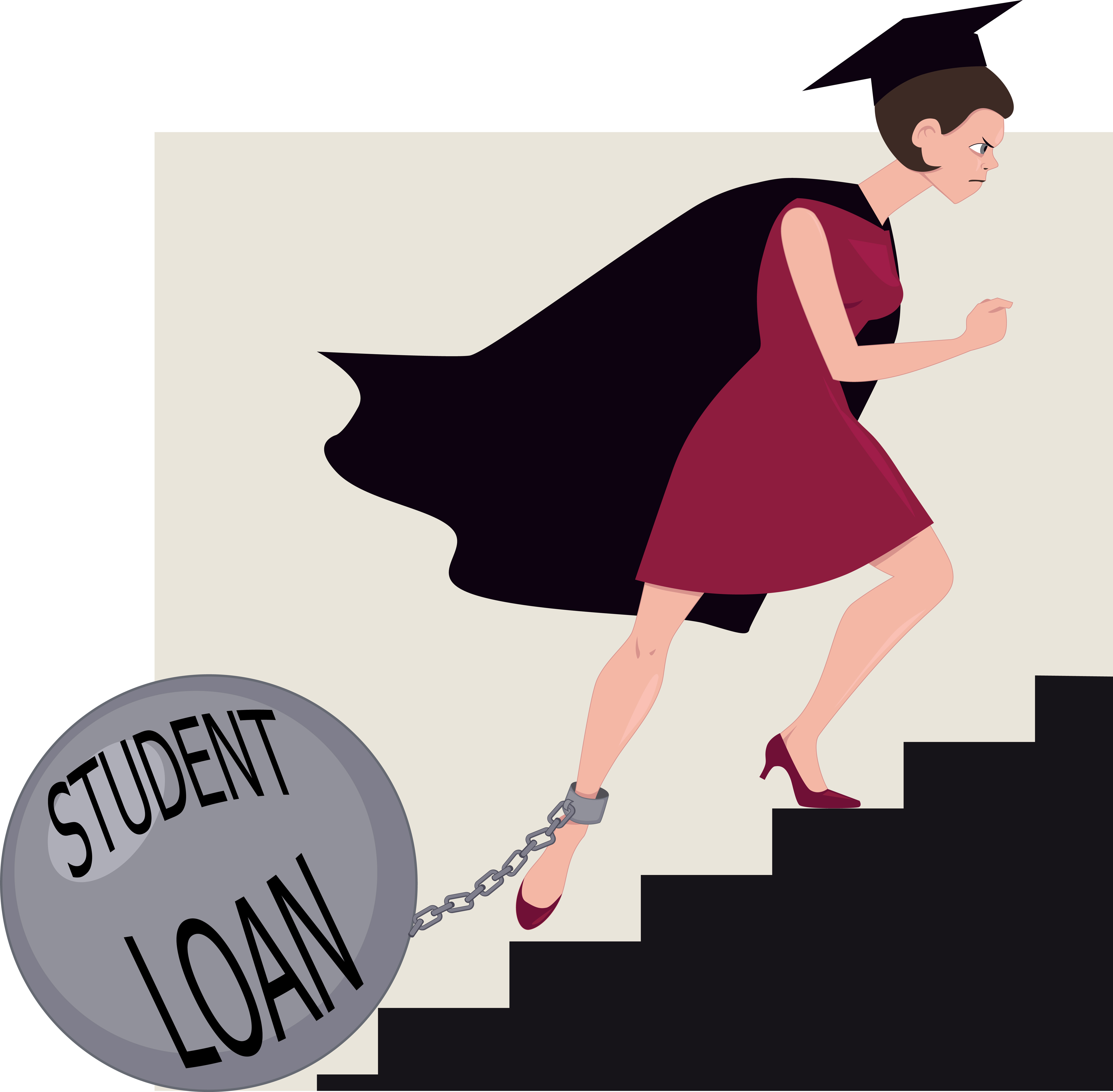 student loan debt essays Student loan debt isn't just hurting a generation of college grads it's also crushing the financial futures of the parents who cosigned for their kids susan zambo, a 50-something mother of three from ohio, had an excellent credit score in the 780s in 2010.